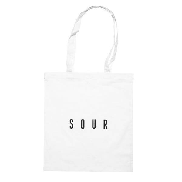Sour Tote Bag - White