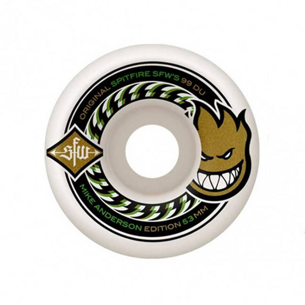 Spitfire Wheels Mike Anderson SFW 2 53mm