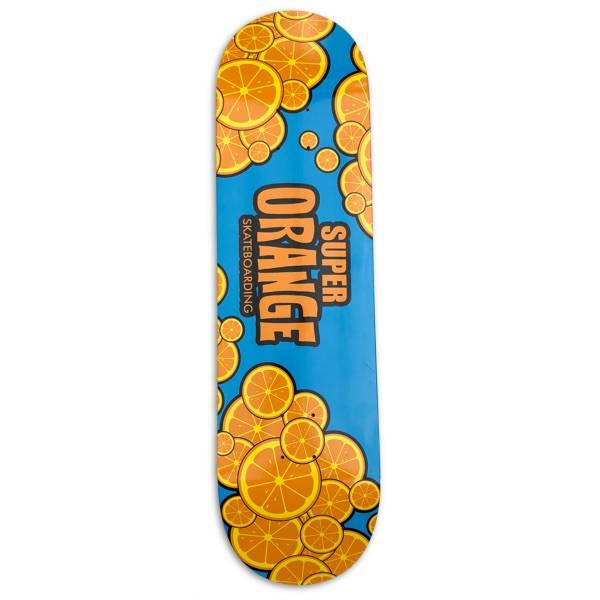 Super Orange Skateboarding Orange Cloud