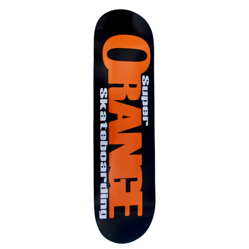 Super Orange Skateboarding Team Deck