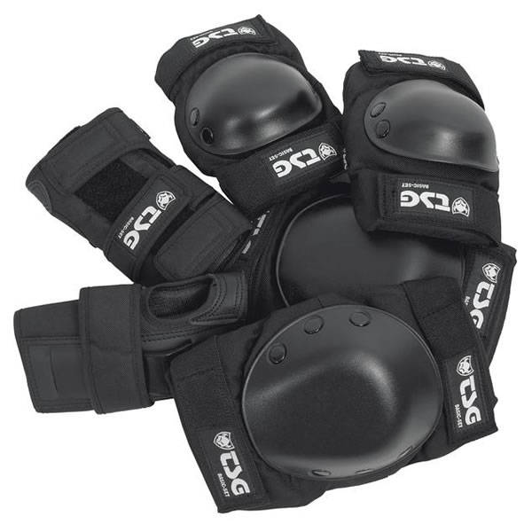 TSG Protection Set Basic - Black