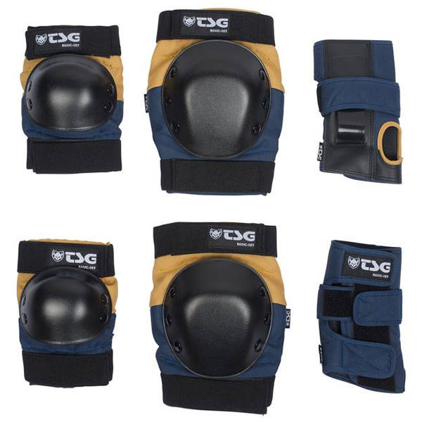 TSG Protection Set Basic - Night Blue Dusk Yellow
