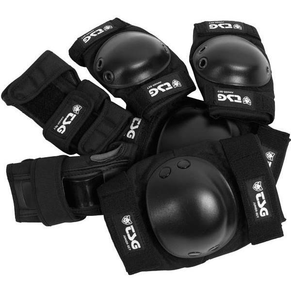 TSG Protection Set Junior - Black