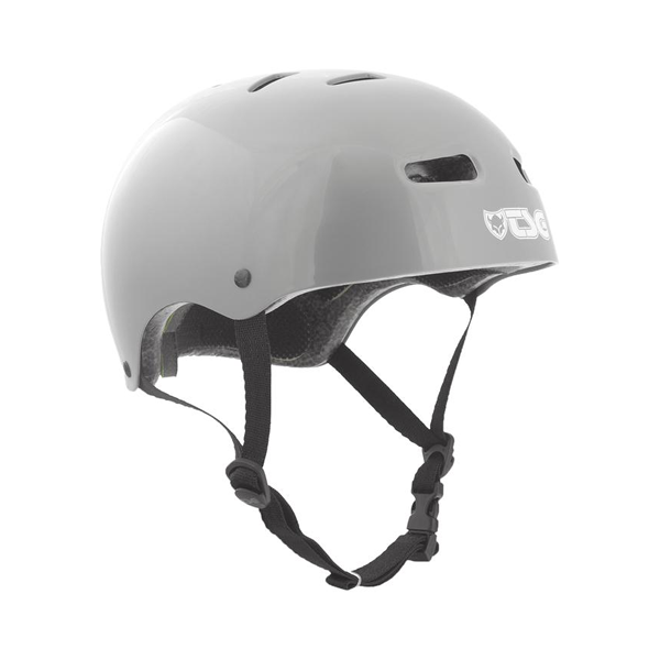 TSG Skateboard Helmet Injected Grey