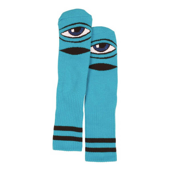 Toy Machine Crew Socks Sect Eye Blue