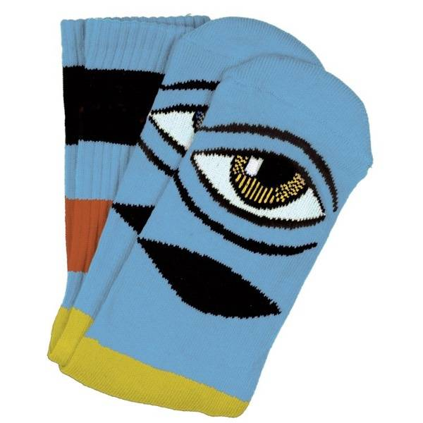 Toy Machine Sect Eye Big Stripe - Baby Blue