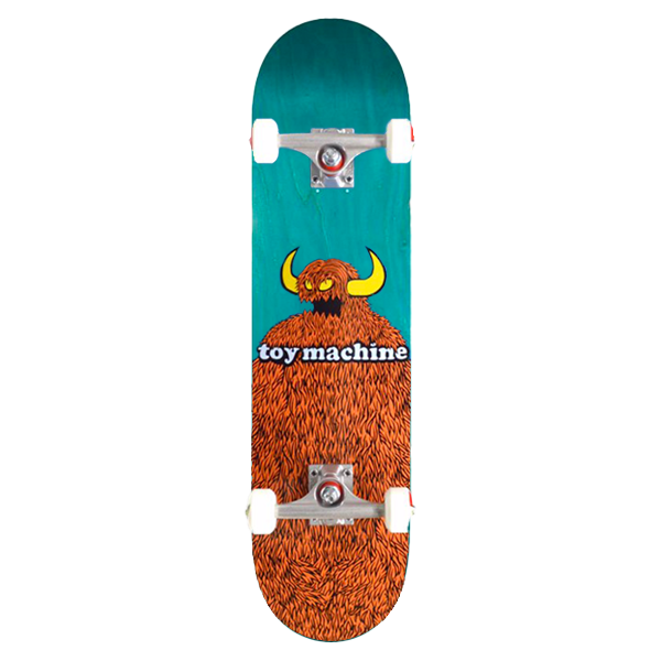 Toy Machine Complete Skateboard - Furry Monster 8.0