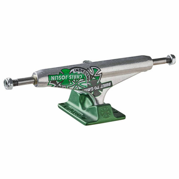 Independent Trucks Stage 11 Forged Hollow Chris Joslin - Silver/green