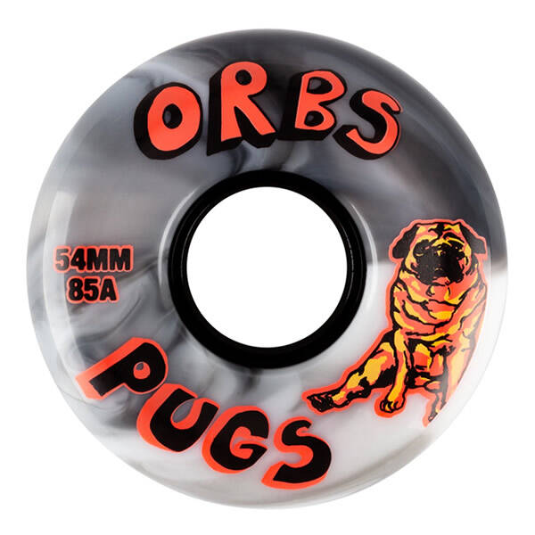 Orbs-Specters-Conical-Wheels-99A-White 53 mm €34,95