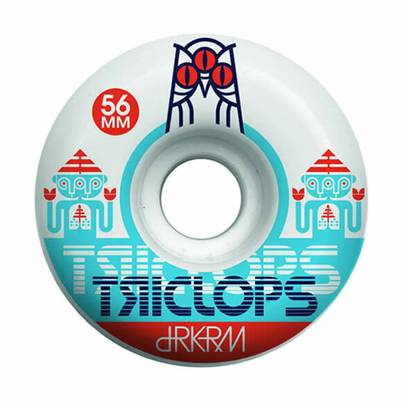 DRKRM Wheels Triclops Spinner White 56 mm
