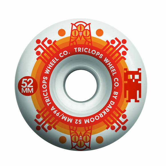 DRKRM Wheels Triclops Turbine White 52 mm