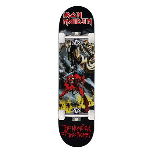 """Zero Complete Skateboard - Number of the Beast 8"""""""