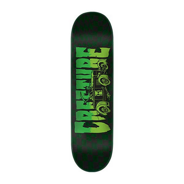 Creature Logo Reaper Hard Rock Maple Skateboard Deck Green