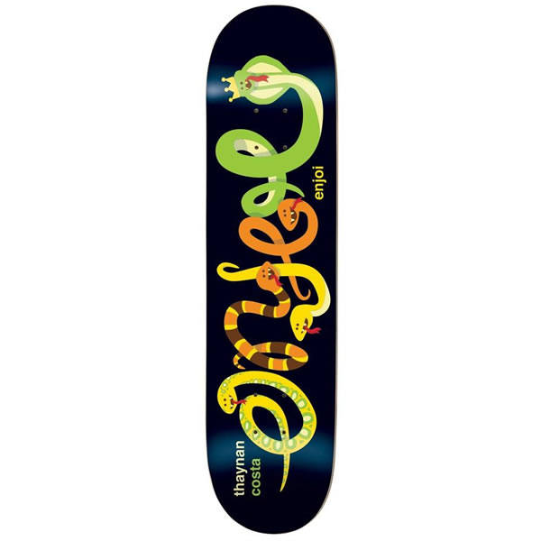 Enjoi Thaynan IntertwinedImpact Light Skateboard Deck