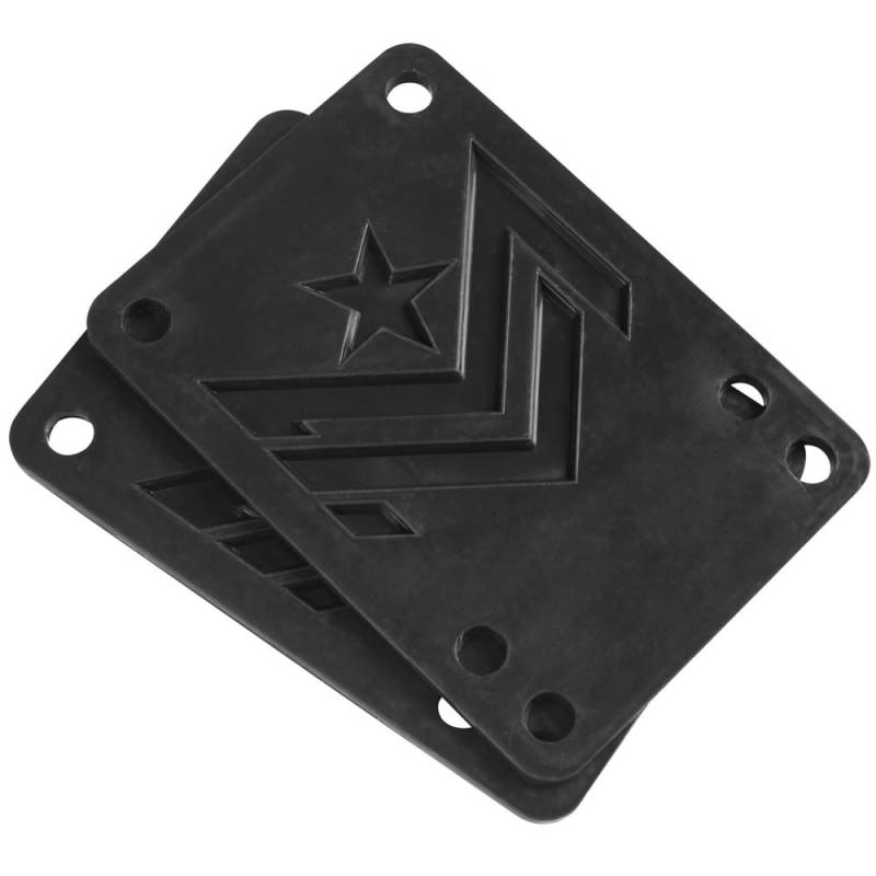 Mini Logo Riser Pad Rubber .10 Black