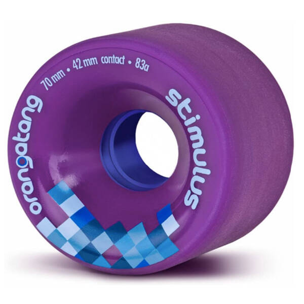 Orangatang Wheels Stimulus Purple 70mm