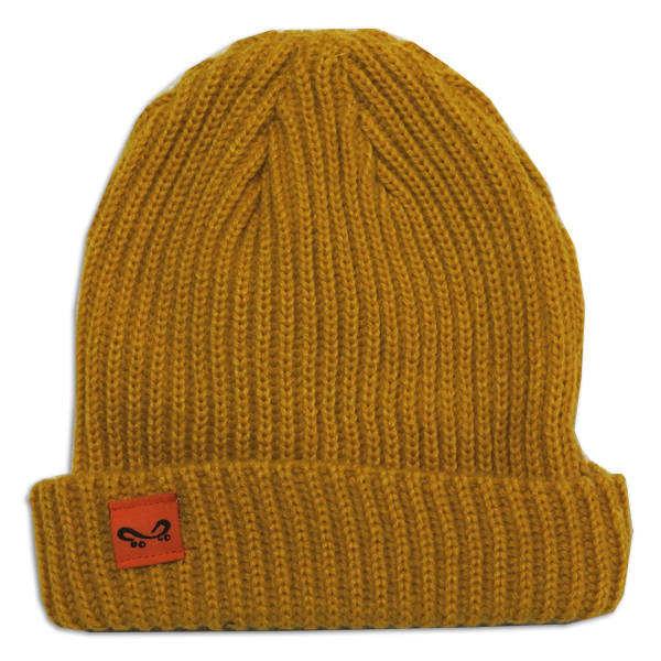Super Orange Skateboarding Trawler - Yellow / Oker