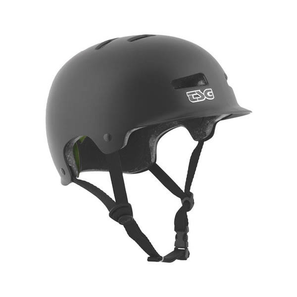 TSG Helmet Recon Solid Satin Black