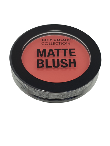 City Color Matte Blush Deep Coral