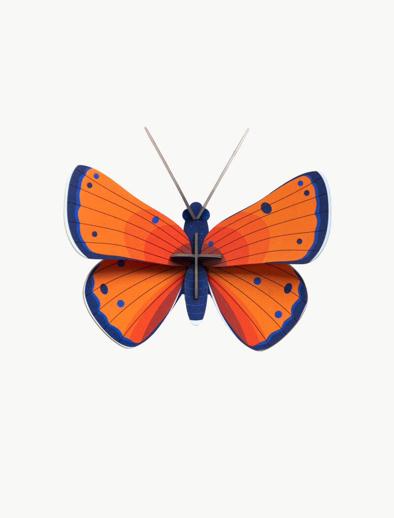 Studio ROOF - wall decor - copper butterfly