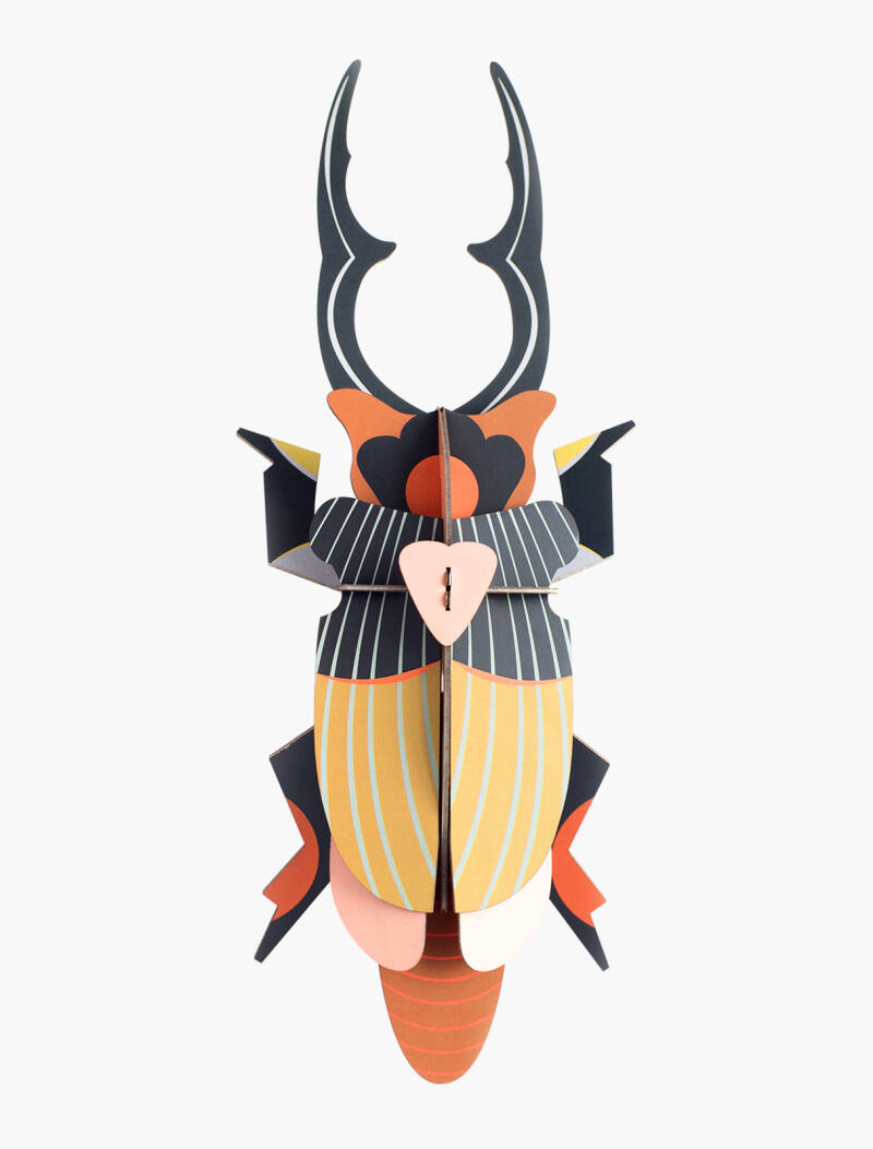 Studio ROOF - Giant stag beetle - wall decoration