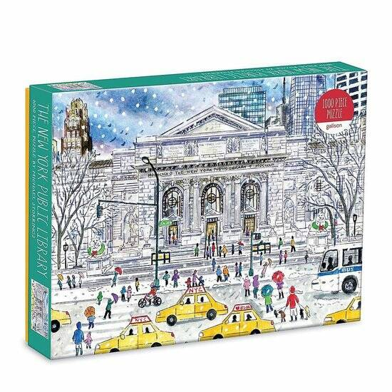 Michael Storrings New York Public Library 1000 Piece Puzzle