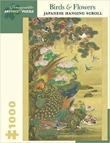 Puzzel 1000 st Birds & Flowers: Japanese Hanging Scroll