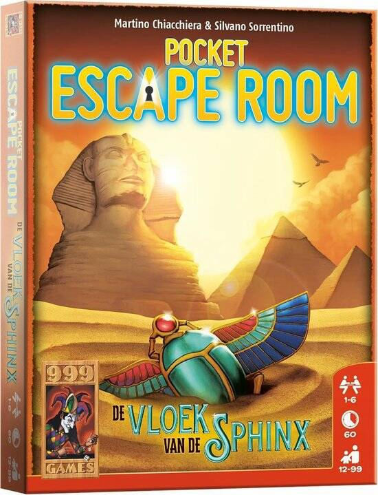 Pocket Escape Room: De Vloek van de Sphinx (NL)