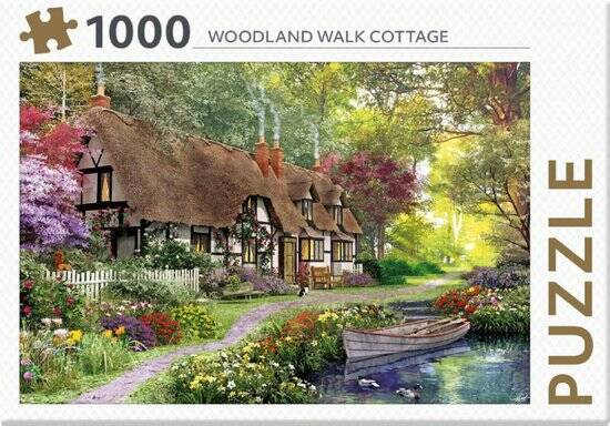 Puzzel 1000 st Woodland Walk Cottage