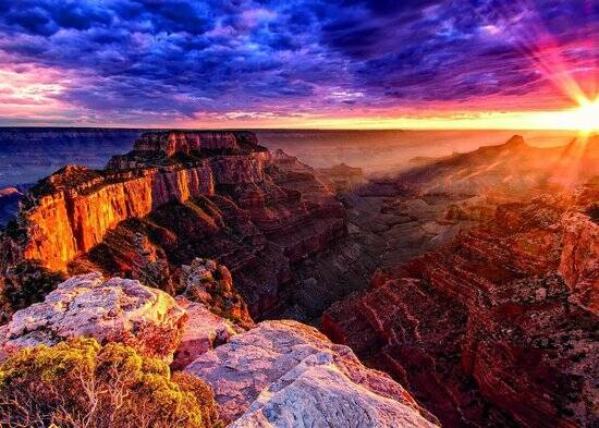 Puzzel 1000 st Grand Canyon USA