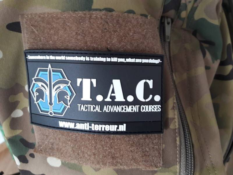 TAC velcro patch