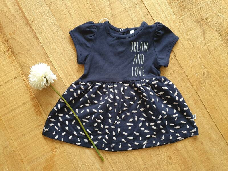 Ducky Beau / Baby / Jurk / Tuniek / Feather Print