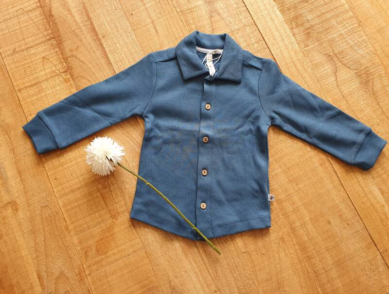 Ducky Beau / Baby / Blouse / Indian teal
