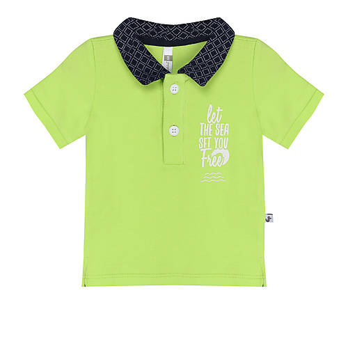 Ducky Beau / Baby / Shortsleeve / Lime Green