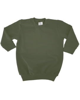 Sweater Jurk - Leger Groen