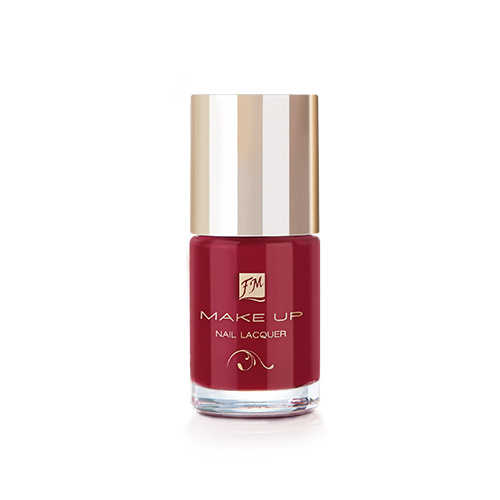 NAIL LACQUER GEL FINISH POSH RED