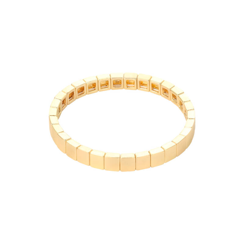 Armband bricks golden