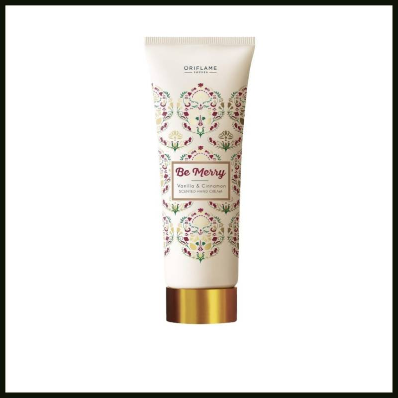 Be Merry Vanilla & Cinnamon Scented Hand Cream