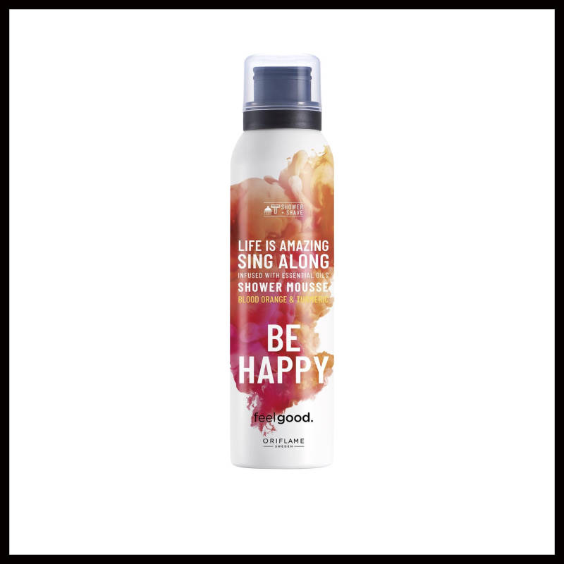 Be Happy Shower Mousse Feel Good