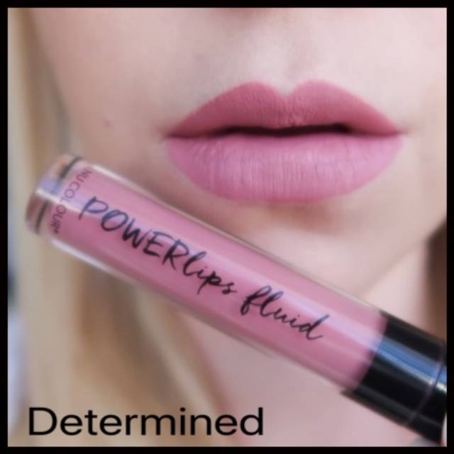 Powerlips Fluid: Matte Determined