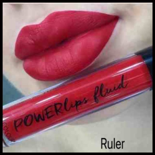 Powerlips Fluid: Matte Ruler