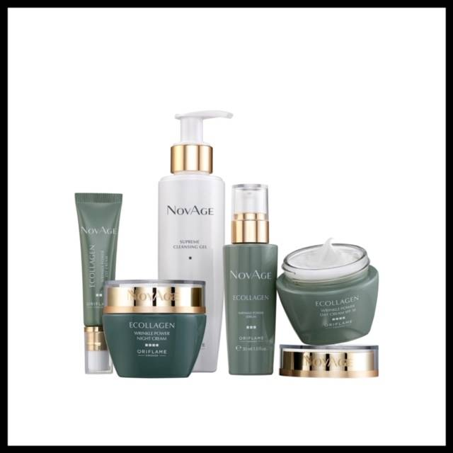 NovAge Ecollagen Wrinkle Power Set