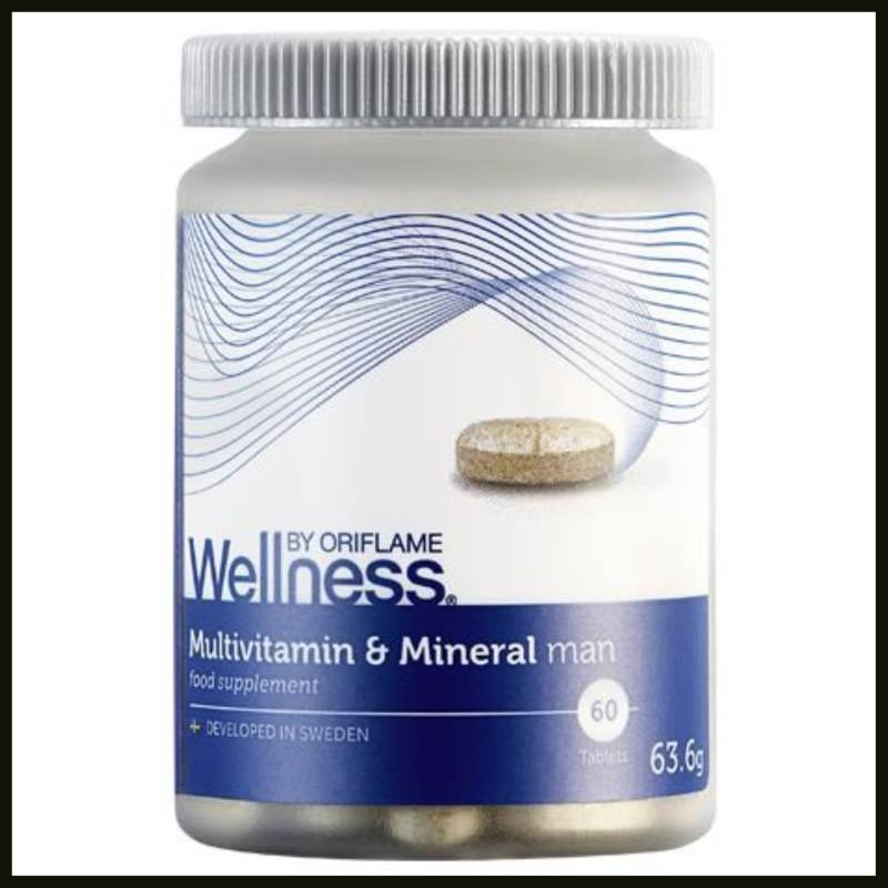 wellnessbyoriflame Multivitamin & Mineral man
