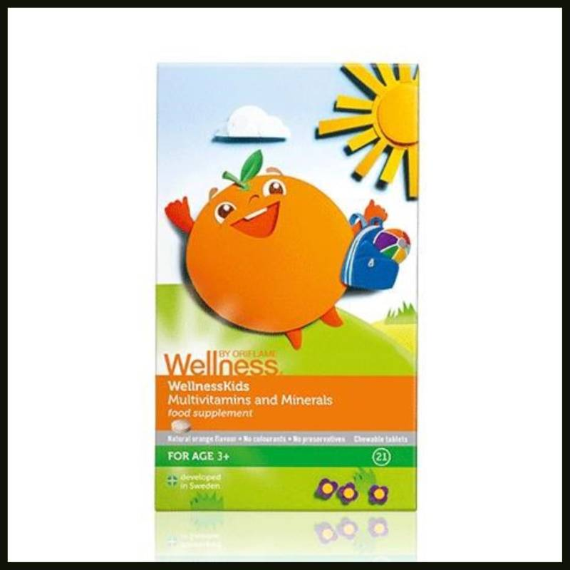 wellnessbyoriflame WellnessKids Multivitamins and Minerals