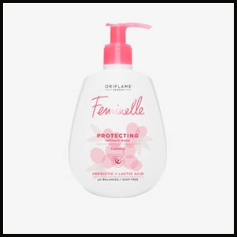Feminelle Protecting Intimate Wash Cranberry