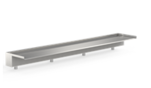 VB4 Waterval 1500  (outflow 150mm) | RVS