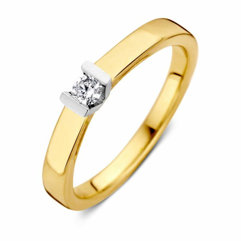 Ring diamant 0,10ct