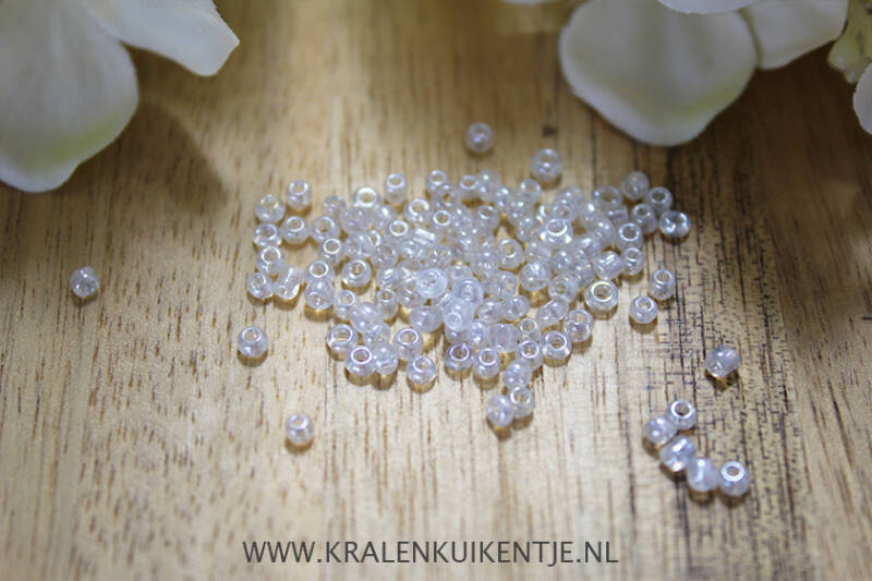 Rocailles Crystal Pearl 2mm - GK108