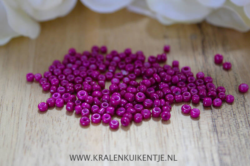Rocailles Red Violet Purple 2mm - GK101
