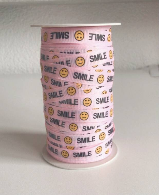 SMILEY LINT PINK